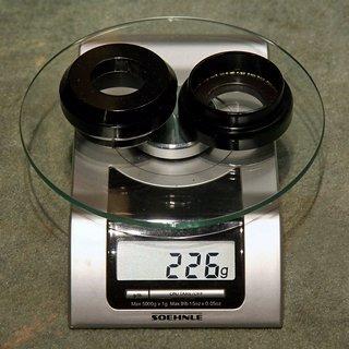 """Gewicht FSA Steuersatz Orbit DL 1.5R 1.5"""" > 1 1/8"""""""