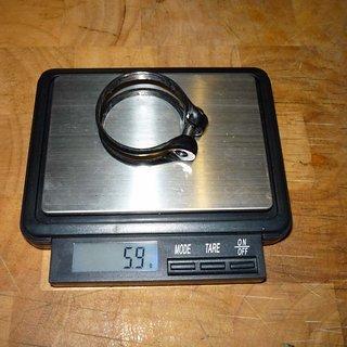 Gewicht Tune Sattelklemme Würger Skyline 34,9mm