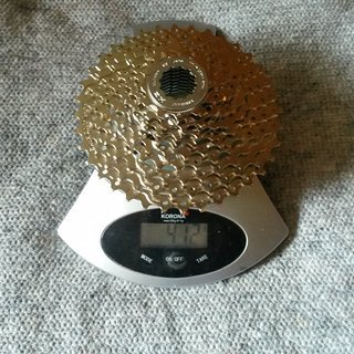 Gewicht Shimano Kassette CS-HG400-9 9-fach, 12-36
