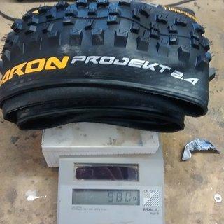Gewicht Continental Reifen Der Baron 2.4 Projekt 26 x 2.40