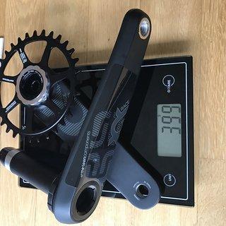 Gewicht e-thirteen Kurbelgarnitur XCX Race  175mm