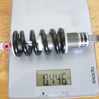 Gewicht Fox Racing Shox Dämpfer Vanilla R 165 x 38mm