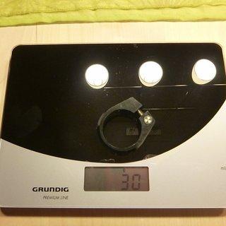 Gewicht Nukeproof Sattelklemme Warhead 34.9mm