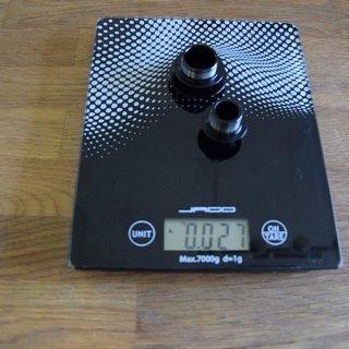 Gewicht Specialized Weiteres/Unsortiertes Roval Traverse SL Adapter  15mm x 100mm