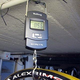 """Gewicht Alex Rims Felge Supra D 26"""" / 559x25 / 32 Loch"""