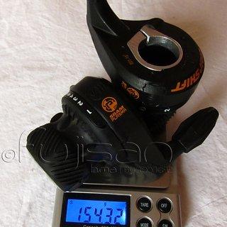 Gewicht SRAM Drehschaltgriff Grip Shift Plasma 3x9-fach