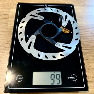 Gewicht Shimano Bremsscheibe SM-RT900-SS 140mm