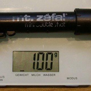 Gewicht Zefal Werkzeug Mini Double Shot 205mm