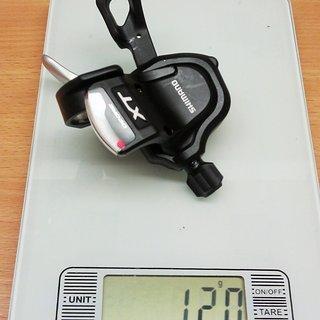 Gewicht Shimano Schalthebel XT SL-M780-A 2/3-fach