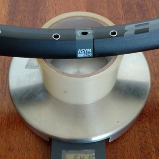 Gewicht WTB Felge Asym i29 650b