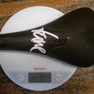 Gewicht Tune Sattel Komm-Vor 131x265mm