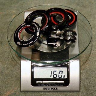 """Gewicht Acros Steuersatz Ai-25 1.5"""" > 1 1/8"""""""