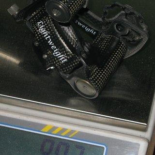 Gewicht No-Name Schaltwerk carbon sports lightweight 0.0