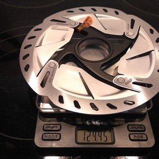 Gewicht Shimano Bremsscheibe SM-RT800S 160mm