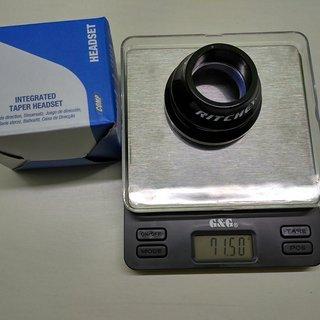 Gewicht Ritchey Steuersatz COMP Drop-In Tapered IS42/28.6, IS52/40