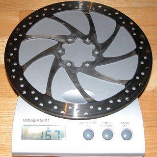 Gewicht Magura Bremsscheibe Bremsscheibe 180mm