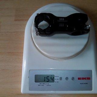 Gewicht Procraft Vorbau Ahead III 31.8 31.8mm, 70mm, 6°