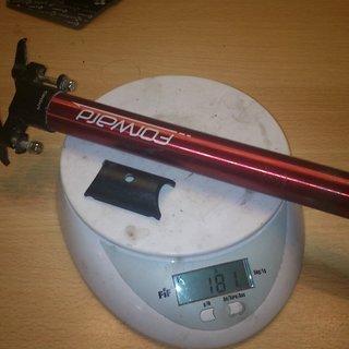 Gewicht Sixpack Sattelstütze Forward 27,2 x 310mm