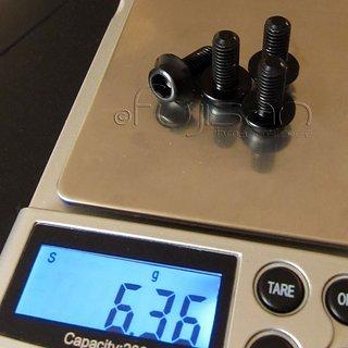 Gewicht Extralite Schrauben, Muttern ExtraBolt 4.1 M6x14, Al