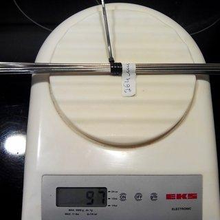 Gewicht DT Swiss Speiche Competition 264mm, 16 Stück