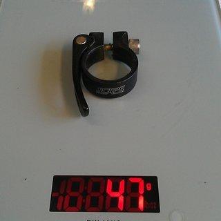 Gewicht Scape Sattelklemme Sattelklemme (QR) 34,9mm