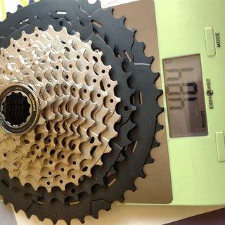 Gewicht Shimano Kassette SLX CS-M7000-11 (HG) 11-46