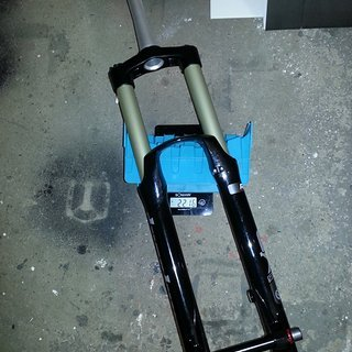 Gewicht Suntour Federgabel Durolux RC2, 180mm, tapered 180mm