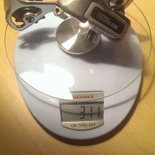 Gewicht Shimano Schaltwerk DX RD-M650