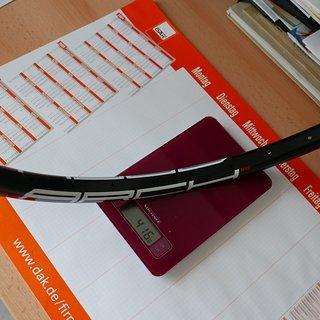 Gewicht Notubes Felge Arch MK3 26