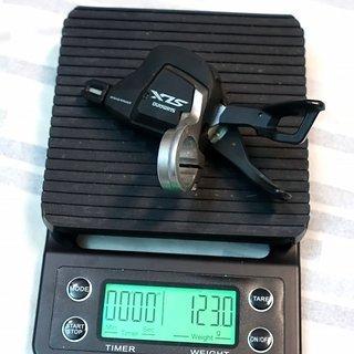 Gewicht Shimano Schalthebel SLX SL-M7000 11-fach