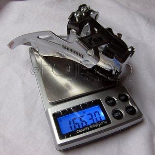 Gewicht Shimano Umwerfer Altus FD-M191 34.9mm