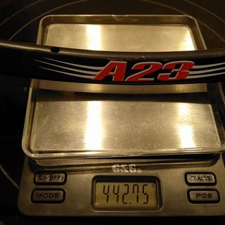 "Gewicht Velocity Felge A23 28"" / 622x17 / 20 Loch"
