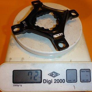 Gewicht SRAM Weiteres/Unsortiertes Spider X0 3fach GXP ohne KB-Schrauben 3fach 64/104 mm