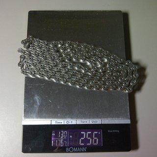 Gewicht KMC Chain Kette X 10 SL Silber 114 Glieder, 10-fach