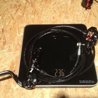 Gewicht Formula Scheibenbremse T1 HR, 1750mm