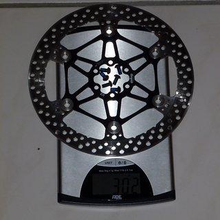 Gewicht Hope Bremsscheibe Vented Disc V2 203mm