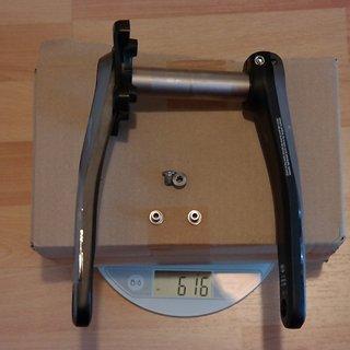 Gewicht Shimano Kurbel SLX FC-M7000-11-1 HTII 175mm