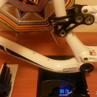 Gewicht Specialized Full-Suspension enduro comp M