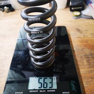 Gewicht Rock Shox Feder Coil 2.75x500