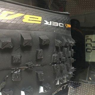"""Gewicht Continental Reifen Der Baron 2.6 27,5+ Faltreifen 27,5 x 2,6""""  ETRTO: 65-584"""