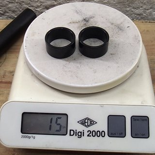 """Gewicht Islabikes Spacer Al-Spacer 1"""", 15/15mm"""