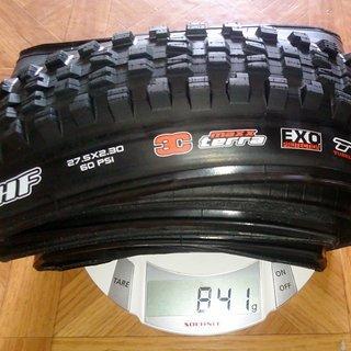 Gewicht Maxxis Reifen Minion DHF 3C MaxxTerra EXO TR 27.5 x 2.30