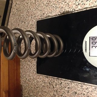 "Gewicht Cane Creek Feder Titanfeder 450 x 3.0"""