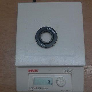 Gewicht Shimano Weiteres/Unsortiertes Lockring CL-Adapter