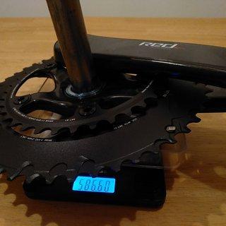 Gewicht SRAM Kurbelgarnitur Red eTap 172,5mm, 52/36Z., GXP