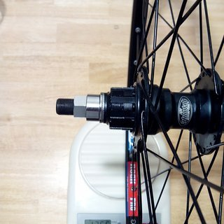 """Gewicht Atomlab Systemlaufräder Trailking BMX - Ritchey Rock Pro - DT Champ 26"""", HR, 110mm/Bolt-On"""