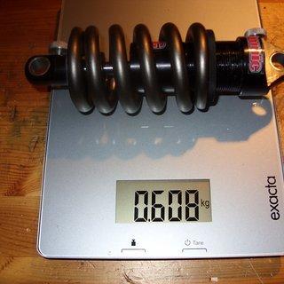 Gewicht Romic Dämpfer Twin Tube 165 x 38