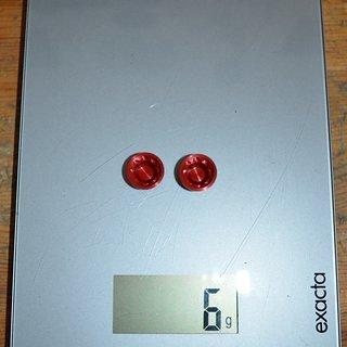 Gewicht Hope Weiteres/Unsortiertes E4 Borecaps rot