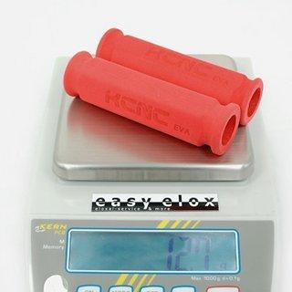 Gewicht KCNC Griffe Eva 120mm