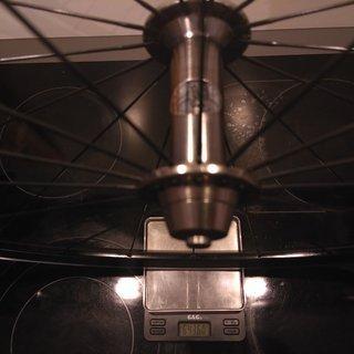 """Gewicht Bees Systemlaufräder Bees - KinLin XR-200 - Sapim Laser 28"""", VR, 100mm/QR"""